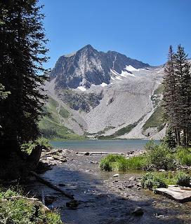 Snowmass Peak and Lake
