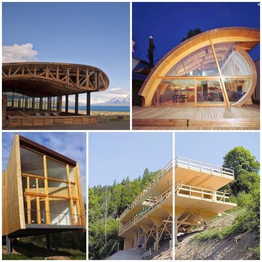 Revista digital apuntes de arquitectura arquitectura en for Arquitectura de madera