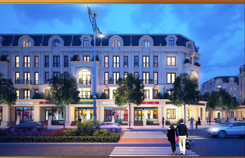 Shophouse dự án Louis City Hoàng Mai