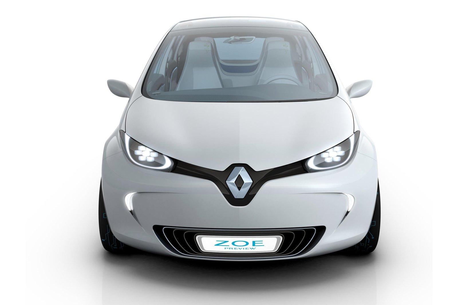 luxury car renault zoe 2013. Black Bedroom Furniture Sets. Home Design Ideas