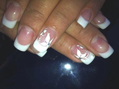 Diseños de uñas para bodas