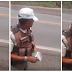 VÍDEO: Caminhoneiro filma PM cobrando propina na Bahia e policial é afastado, assista