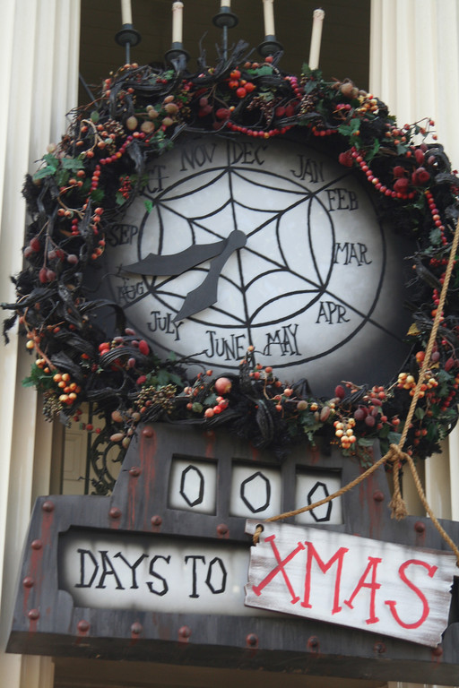 Countdown To Christmas Clock.Diy Nightmare Before Christmas Halloween Props Halloween