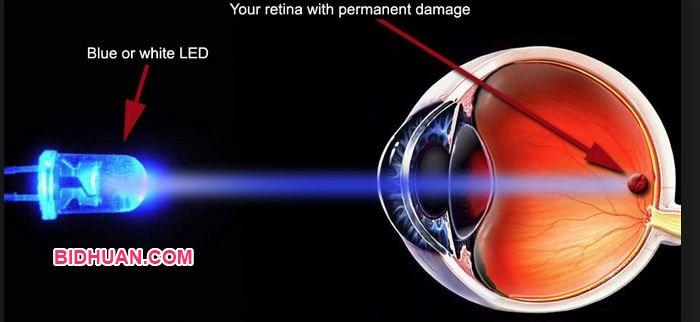 Pengaruh sinar biru terhadap mata