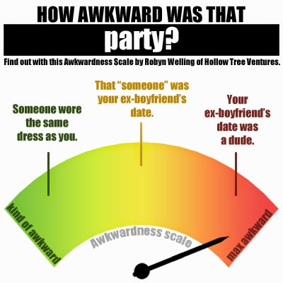 How awkwardness was that party by Robyn Welling @RobynHTV