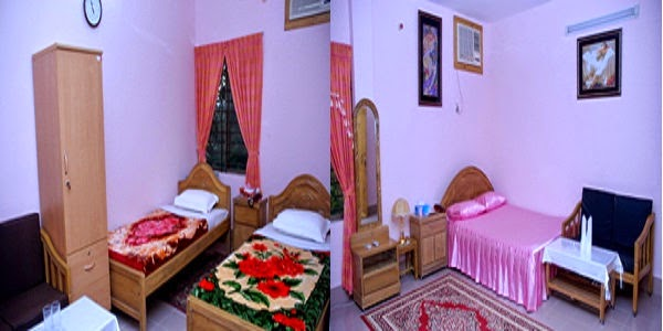 Room rates of Hotel Anurag and Hotel Gazi Empire in Sylhet