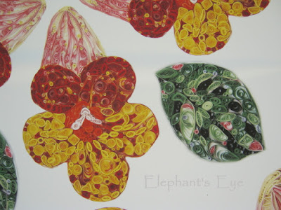 Detail of the poster for the Gesneriaceae exhibition (cannot find the artist to credit)