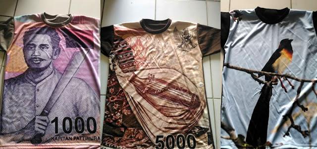 Kaos Full Print Satuan Harga Murah Berkualitas