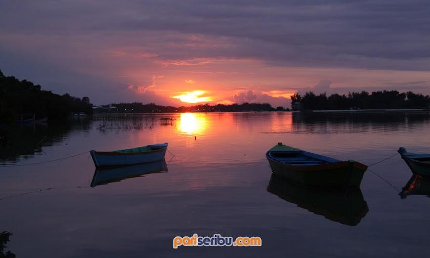 Sunset Wisata Pulau Pari