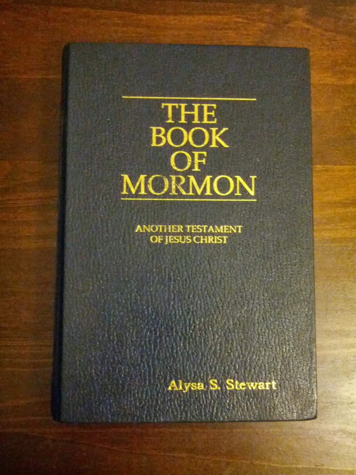 the book of mormon