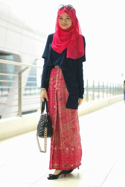 30 tutorial fashion hijab modern trend 2018 syar 39 i kekinian Fashion style hijab modern