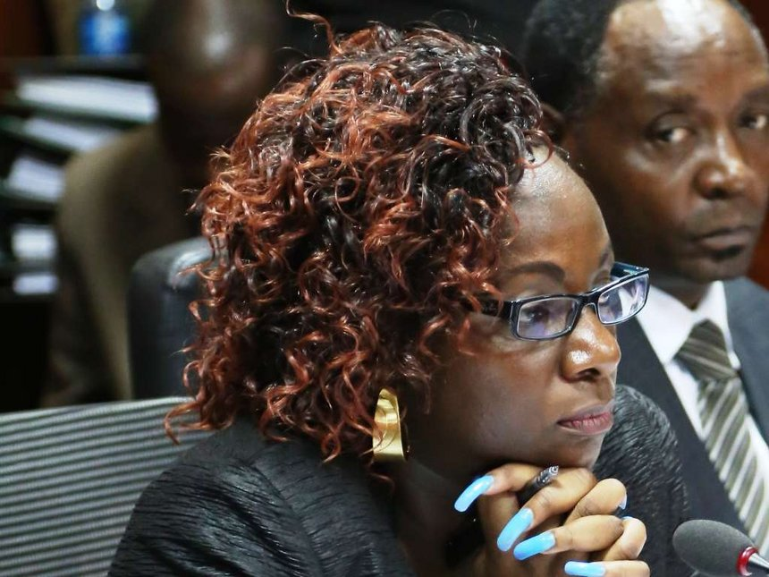 Catherine Namuye Dead Youth Fund Killed Bruce Odhiambo