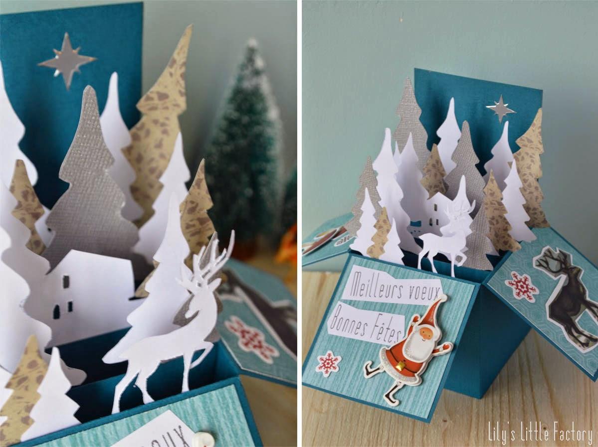 Carte De Voeux 3D A Fabriquer ebook] carte pop up noel a fabriquer