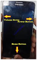 enter download mode Samsung device