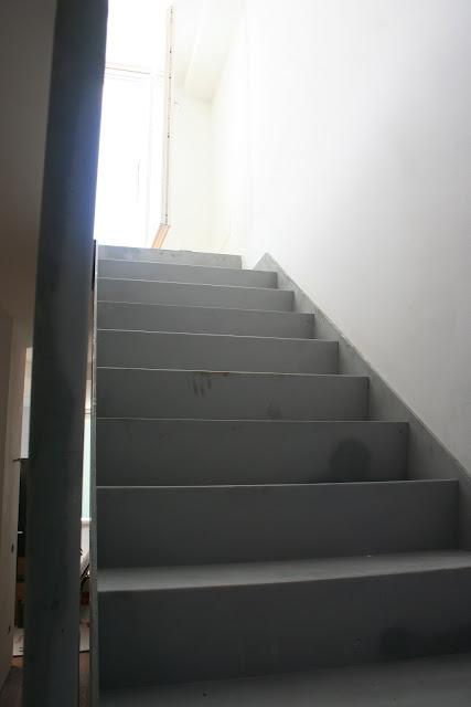 scala in acciaio iron staircase