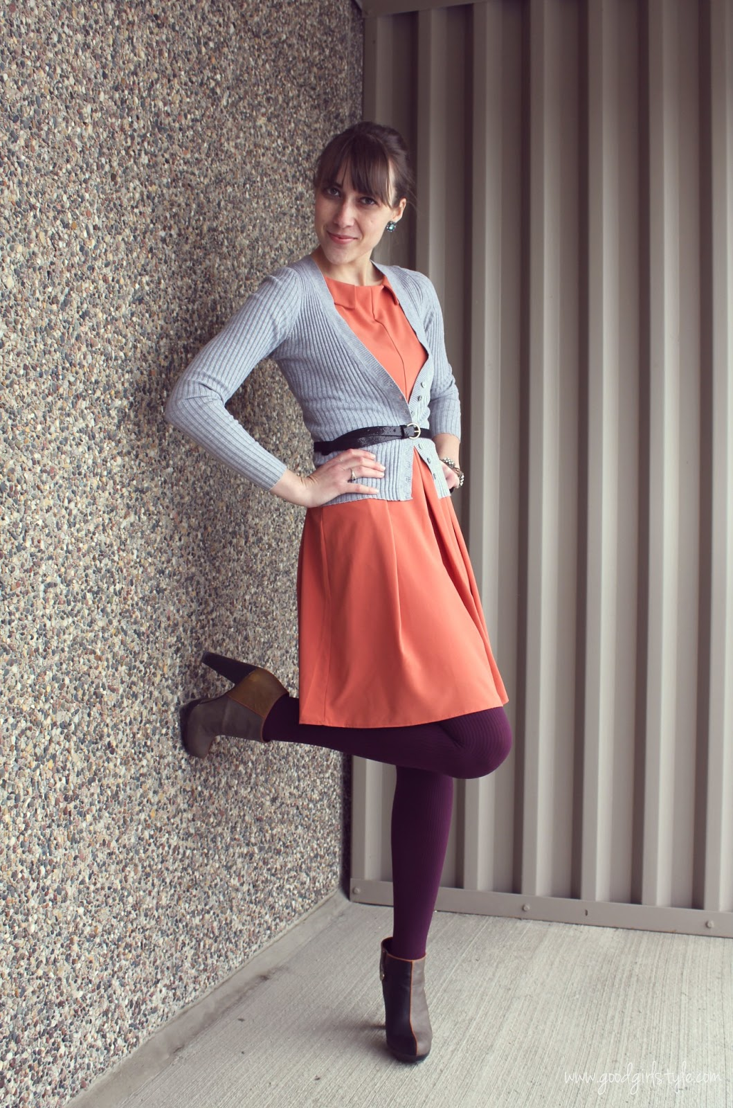 Good Girl Style Wearing Skirts Amp Tights In Winter