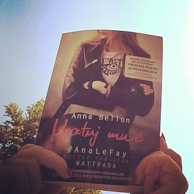 """#122 [PRZEDPREMIEROWO] Recenzja książki """"Uratuj mnie"""" Anny Bellon"""