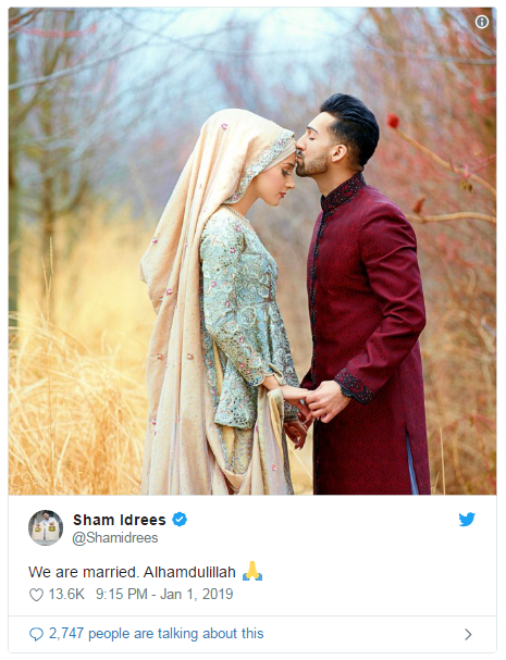 Good News! YouTube Stars Sham Idrees & Queen Froggy are Married