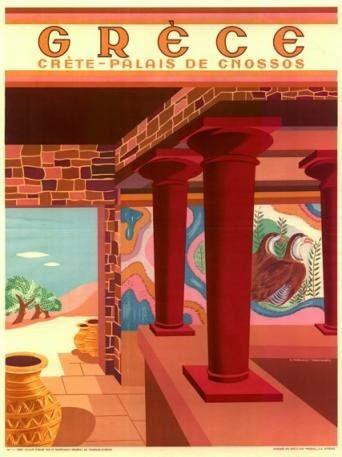 Palace Knossos, Crete,1949