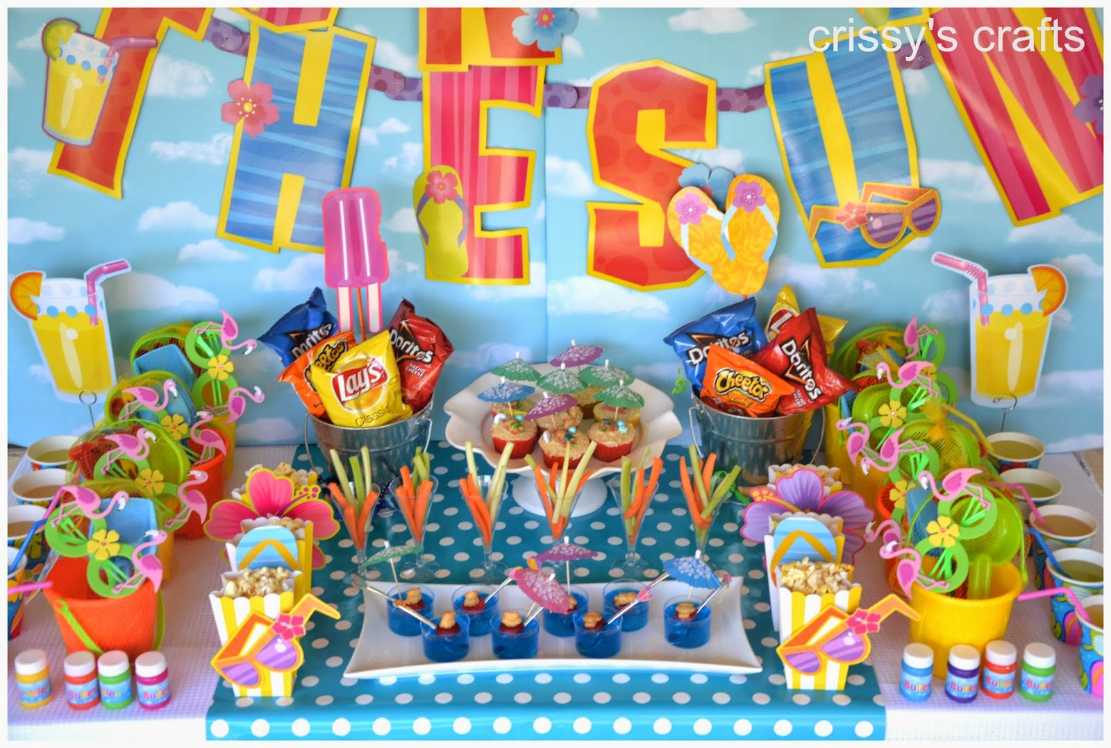 Crissy S Crafts Fun In The Sun Party