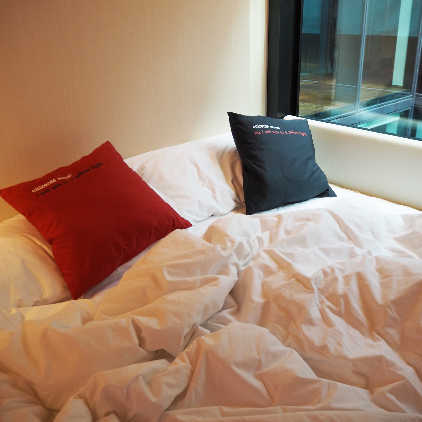 citizenM beds