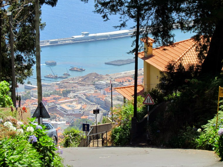 the Caminho do Meio is almost a roller coaster to get to Funchal