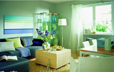 mẫu sơn phòng khách đẹp