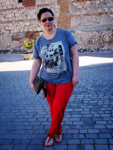 Look 132 - Red pants II -