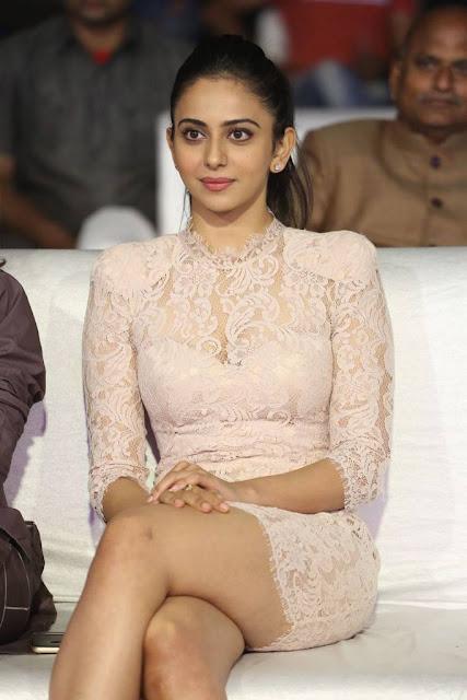 Rakul Preet Singh Stills At Malli Raava Movie Pre Release Event