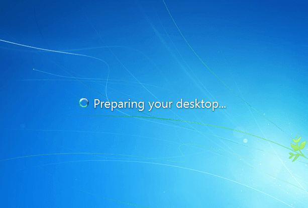 "Cara Mengatasi Masalah ""Preparing Your Desktop"" Pada Windows 7"