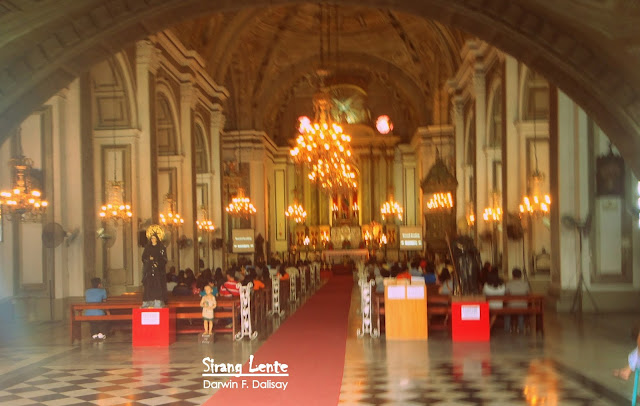 San Agustin Church is the oldest church in the philippines