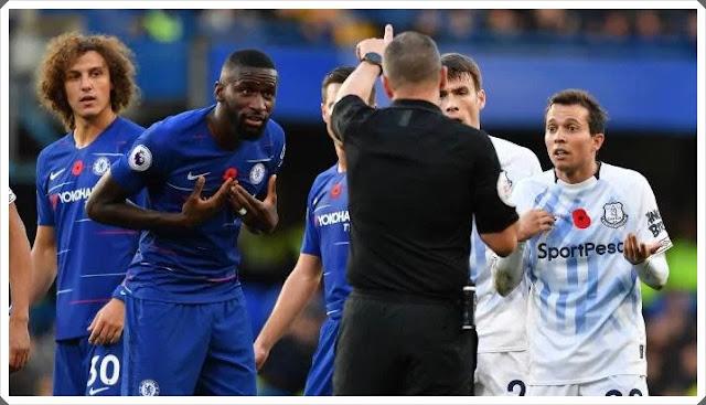 Chelsea Everton Rudiger Bernard