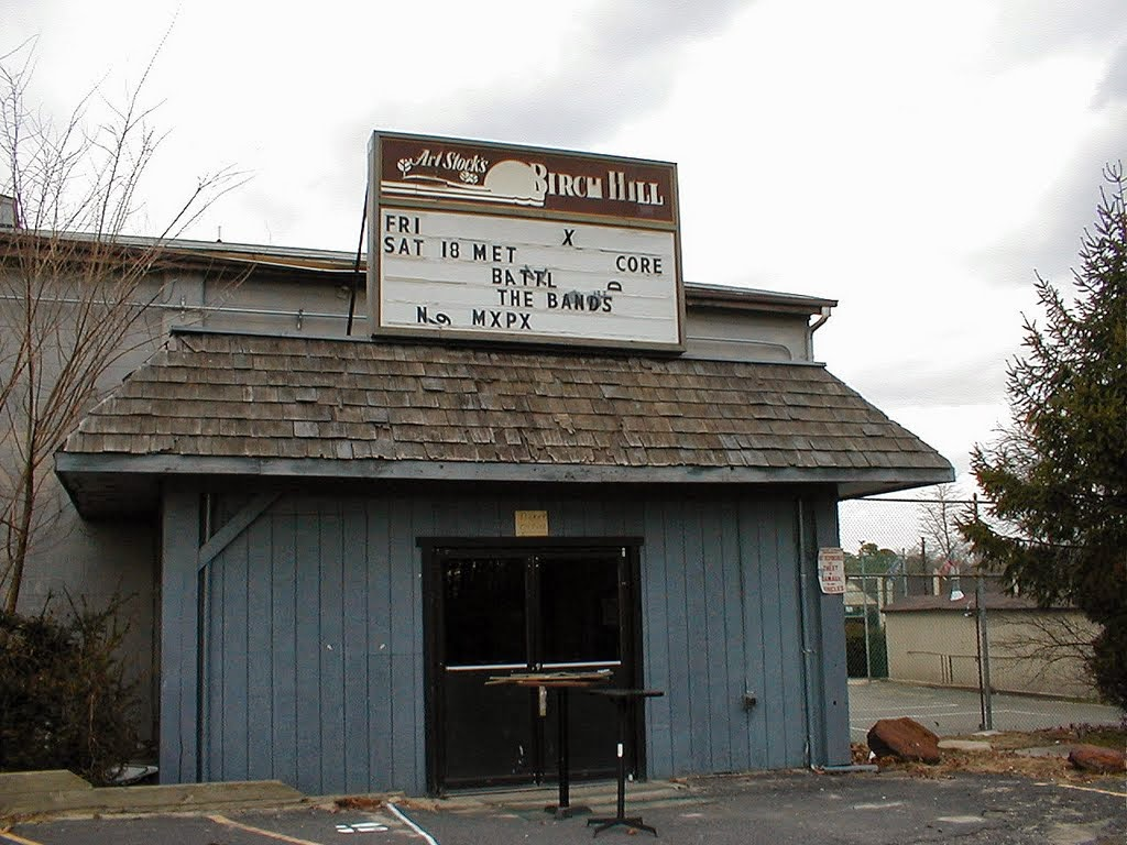 Awesome! The Birch Hill Nightclub last marquee in Old Bridge, New Jersey