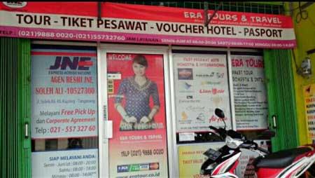 Telepon & Lokasi Kantor Cabang JNE Tangerang