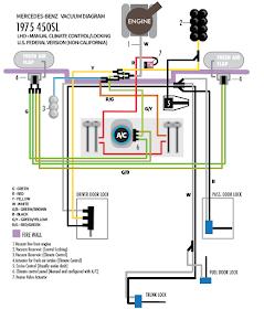 mercedes benz w123 and r107 diy mercedes vacuum diagram 1993 mercedes-benz 300se vacuum diagram mercedes benz vacuum diagram #3