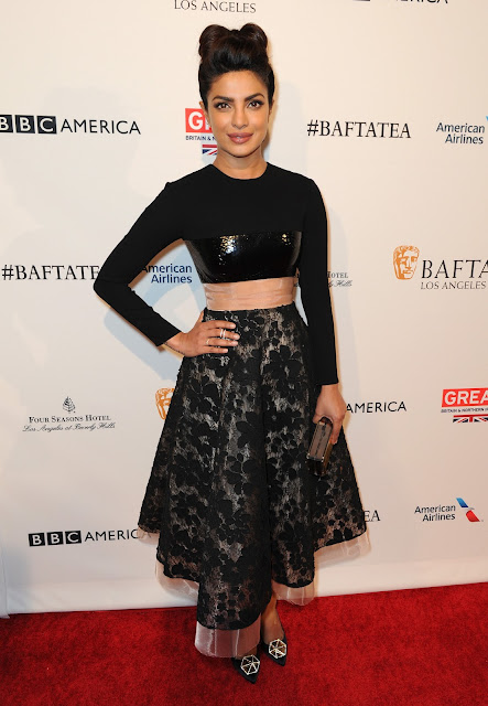 Priyanka Chopra – BAFTA Los Angeles Awards Season Tea in LA