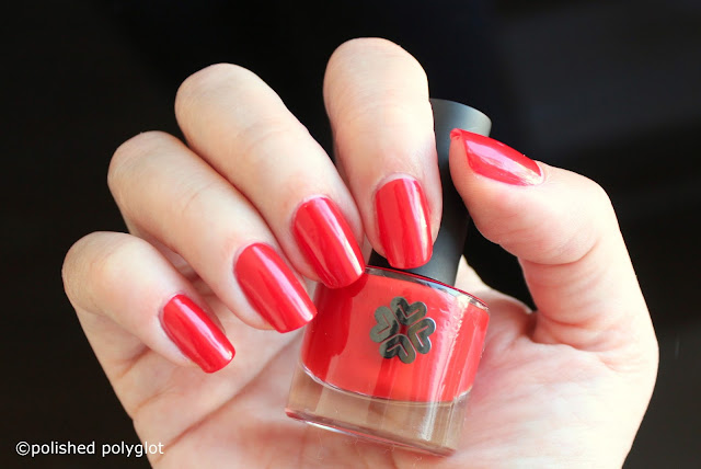 Lily Lolo Nail polish in Miss Scarlet