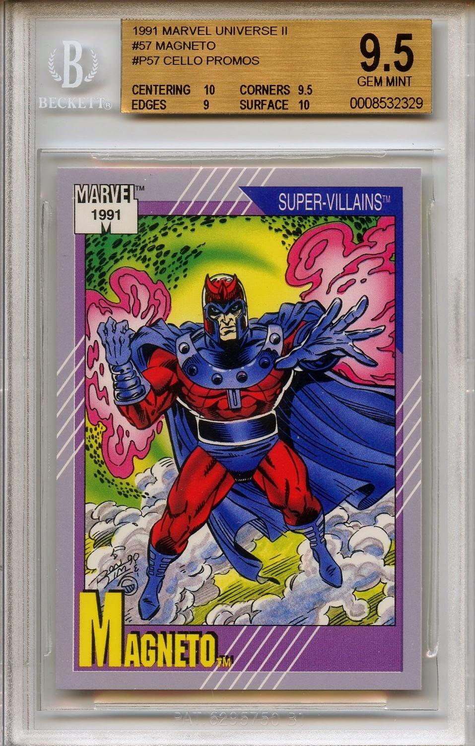 Graded Marvel Cards March 2015