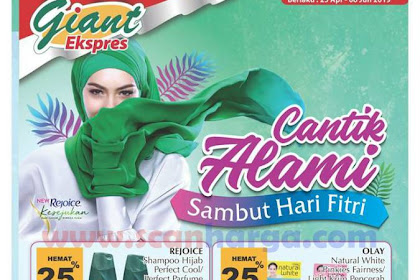 Katalog Giant Ekspres Promo Mailer Beauty Fest 25 April - 6 Juni 2019
