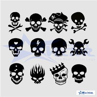Skull Logo Vectors cdr