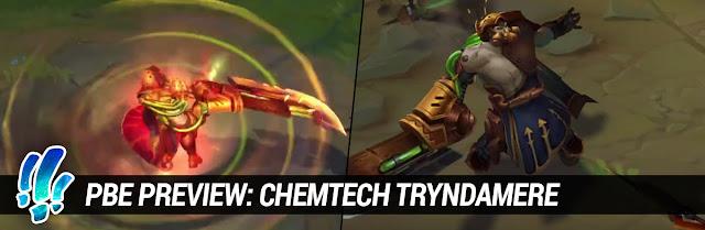 Nueva Skin de Tryndamere!        Tryndamurrr