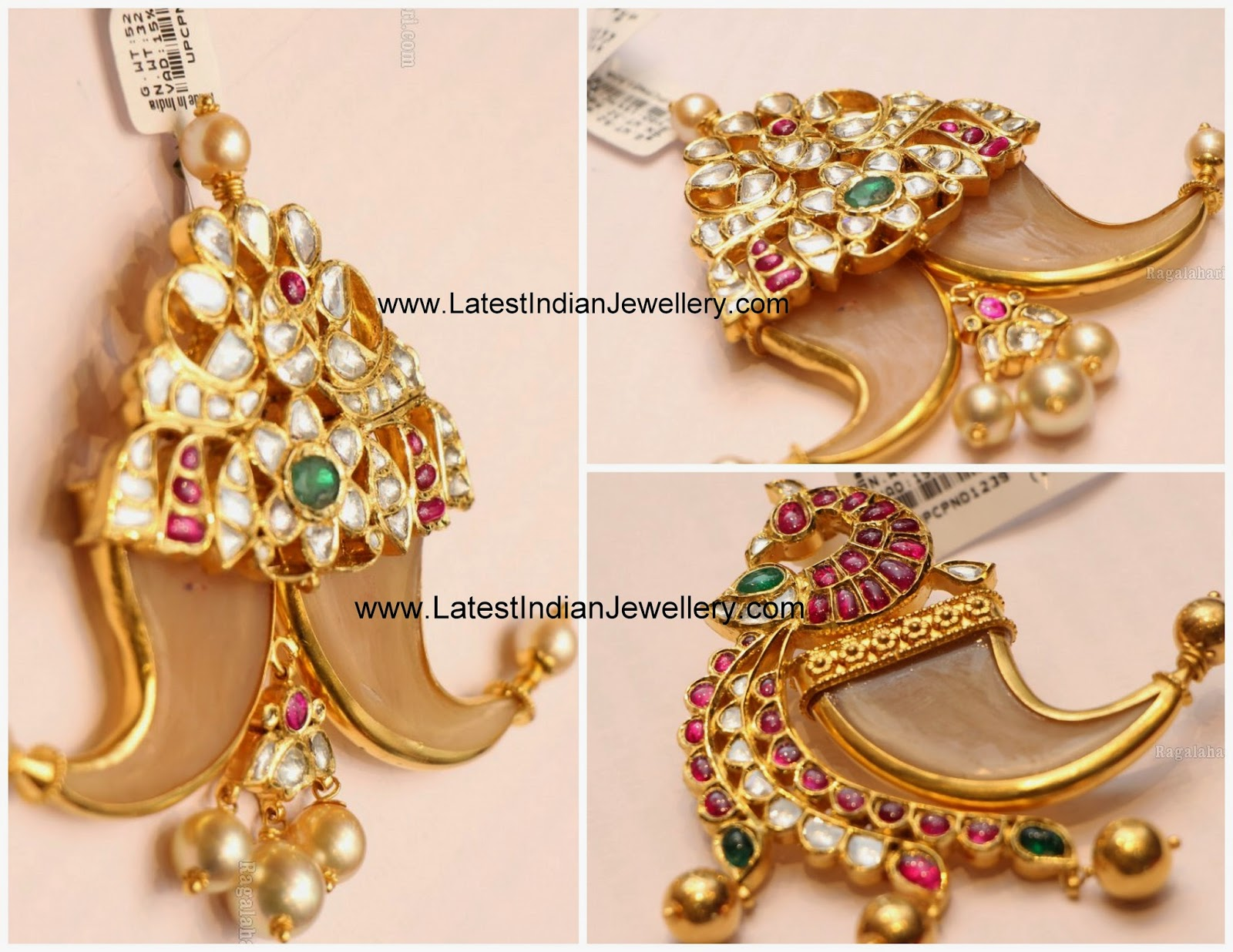 Latest Puligoru Pendant Designs
