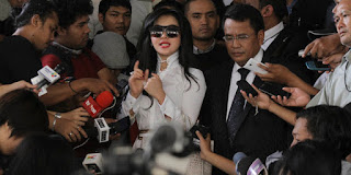 Princess Syahrini:Syahrini kurban Princess, Raja dan Ratu di Bogor