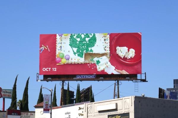 Romanoffs cake teaser billboard