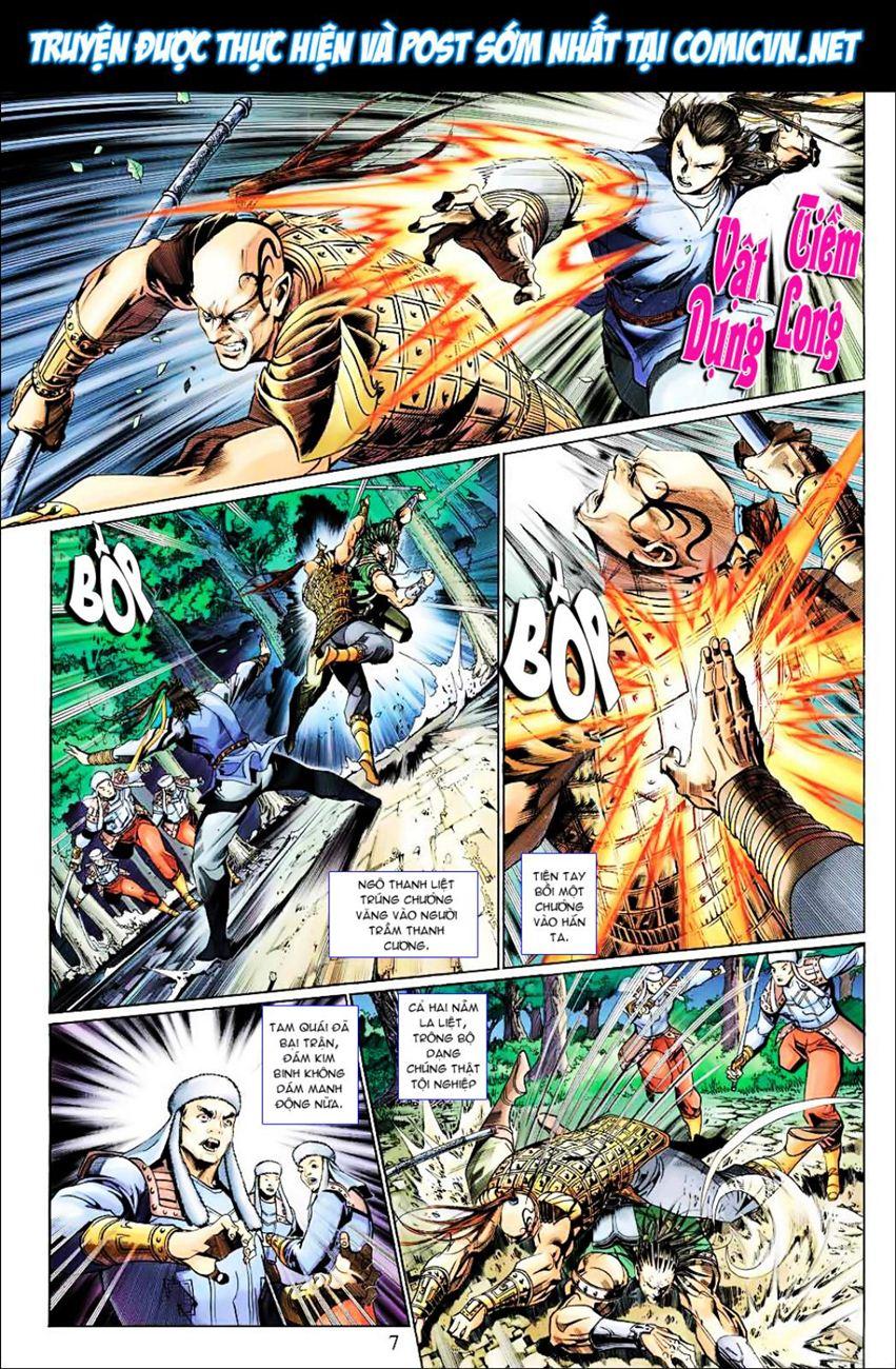 Anh Hùng Xạ Điêu anh hùng xạ đêu chap 38 trang 6