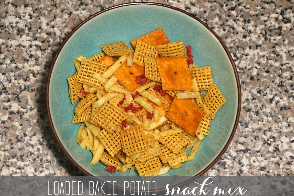 Loaded Baked Potato Snack Mix