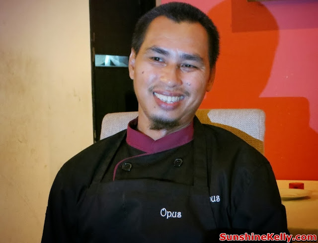 KL Restaurant Week, OPUS Bistro @ Bangkung, bangsar, Food Review, Italian food, cuisine, Chef Ariff bin Mohd Nor, head chef