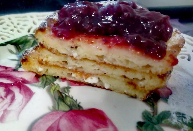 placki z serka wiejskiego racuszki na slodko placki dla dzieci placuszki z serkiem wiejskim sniadanie pozywny deser