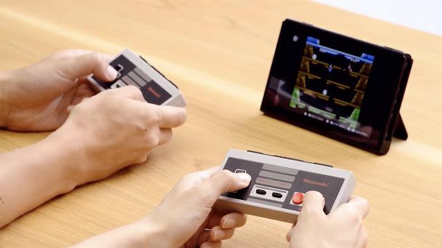 Ini Nih Controller Nintendo Switch yang Bentuknya seperti Stik NES Legendaris