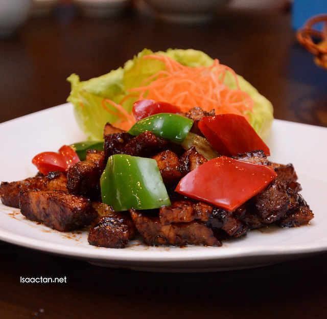 Signature Fried Roasted Pork - RM25